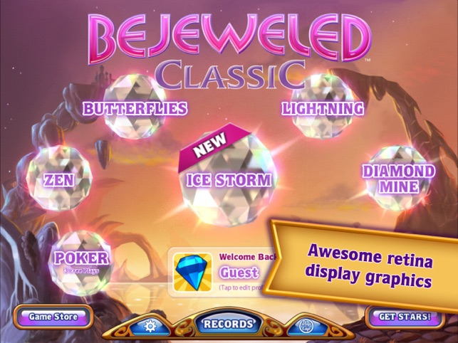 bejeweled classic hd on the app store