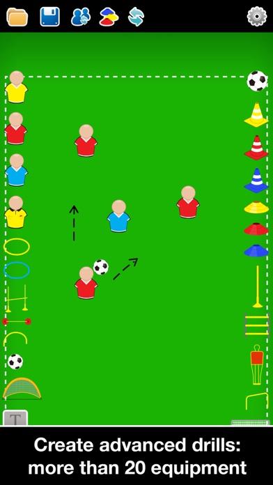Screenshot for Coach Tactic Board: Football++ in Qatar App Store