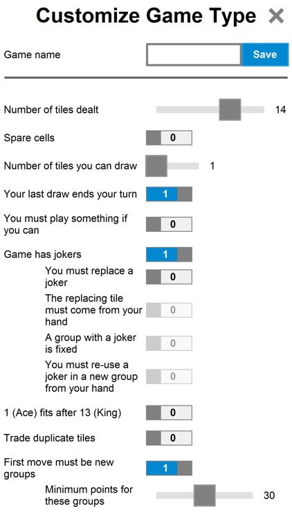 Pup Rummy PLUS   The game with numbered tiles screenshot-4