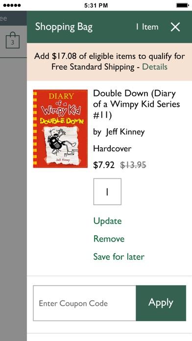 Barnes Noble Shop Books Games Collectibles review screenshots