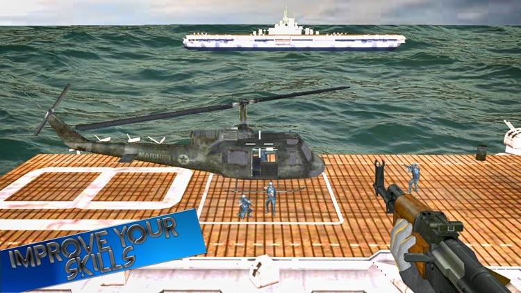 Navy battleship war: Operation black Ops screenshot-3