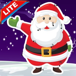 Santa Claus Dot to Dot: happy xmas kids fun games