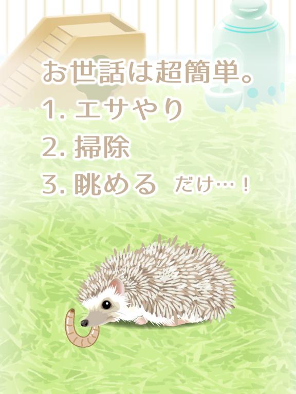 癒しのハリネズミ育成ゲームのおすすめ画像2