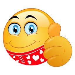 Flirty Valentine's Day Emoji Stickers
