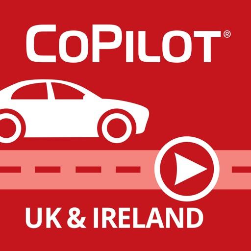 CoPilot UK & IRE – Offline Sat-Nav, Maps & Traffic app logo