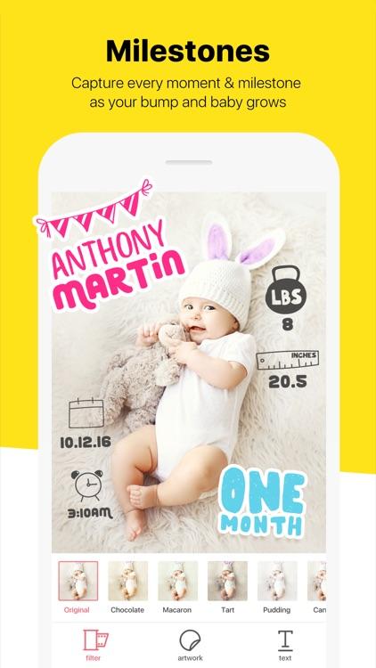 Baby Cam - Pregnancy Milestones Pics & Photo Story