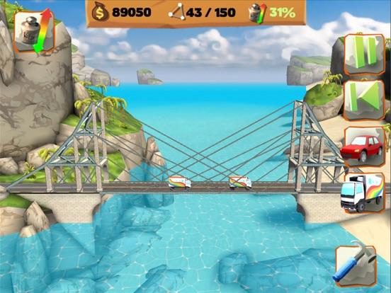 Bridge Constructor Playground! на iPad