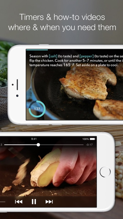 SideChef: Step-by-step cooking screenshot-3
