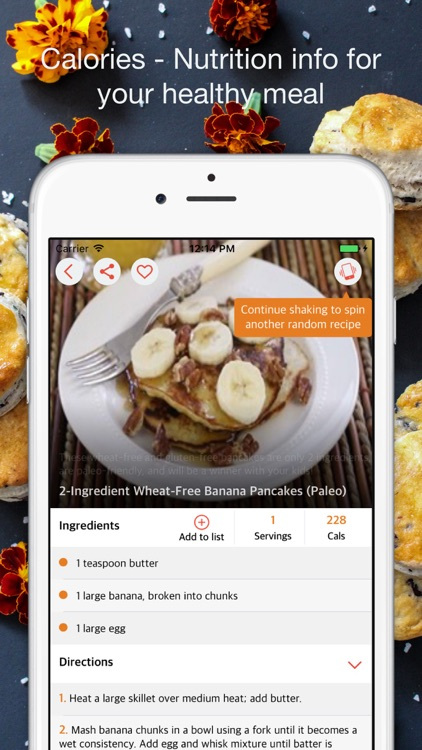 Pancake Recipes - Healthy Breakfast and Brunch screenshot-3