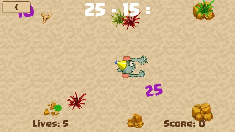 Math Zombie - Subtraction screenshot-3