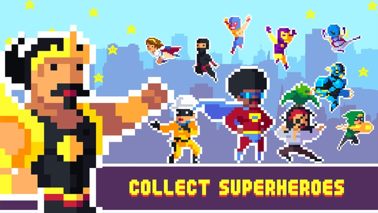 Pixel Super Heroes screenshot-0