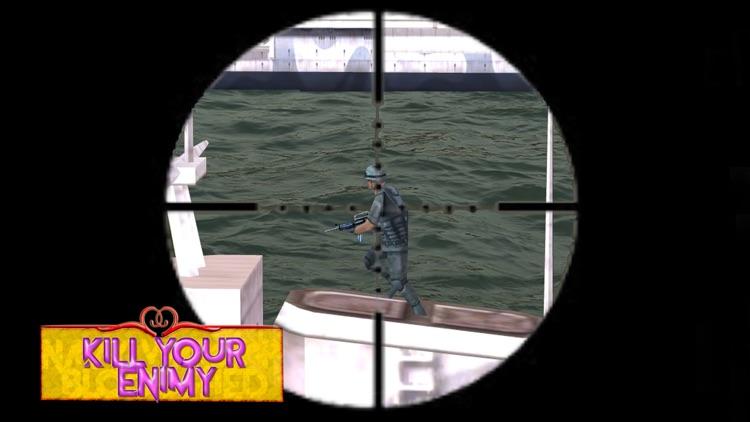 Navy warship bloodshed: Sea battle game screenshot-3