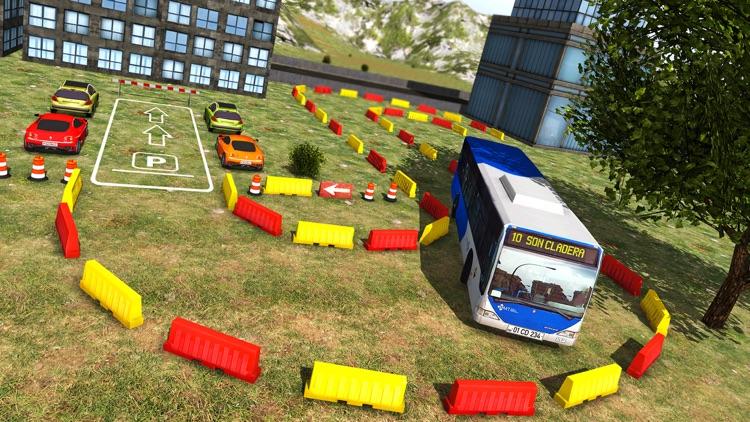 New York City Bus Parking 3D - Driving Simulator screenshot-4