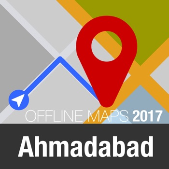 Ahmadabad Offline Map and Travel Trip Guide