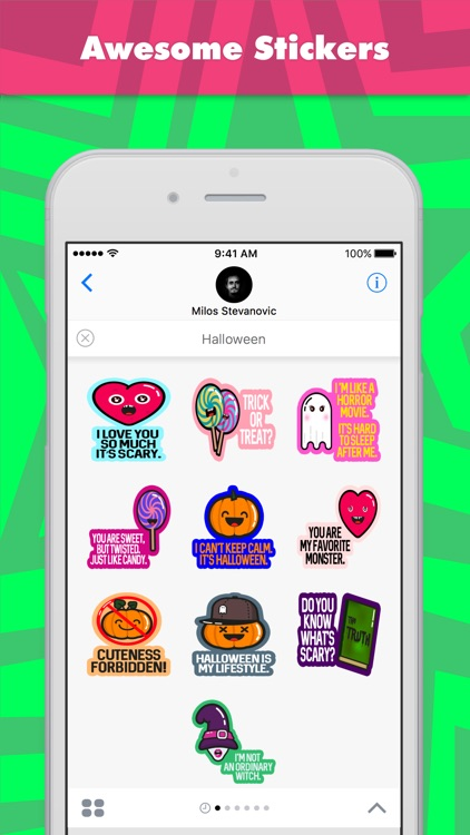 Halloween stickers by Ludus