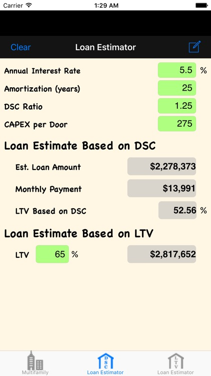 MRE: Multifamily Real Estate Calculator screenshot-3