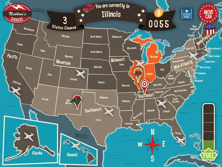 Geography Drive USA screenshot-0