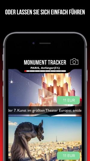 Guide Tours Monument Tracker Screenshot
