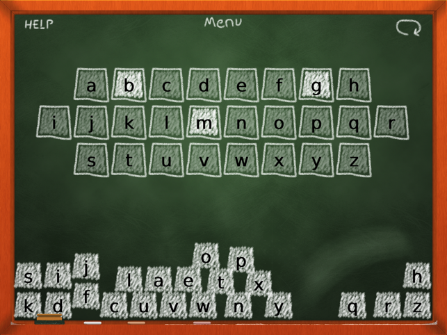 Chalk School: Alphabet Order - ABCs Screenshot