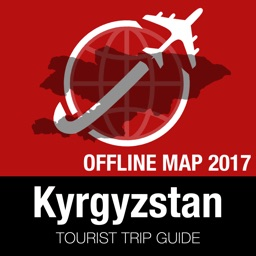 Kyrgyzstan Tourist Guide + Offline Map