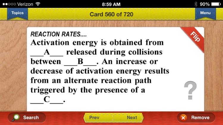 AP Chemistry Prep Flashcards Exambusters screenshot-3
