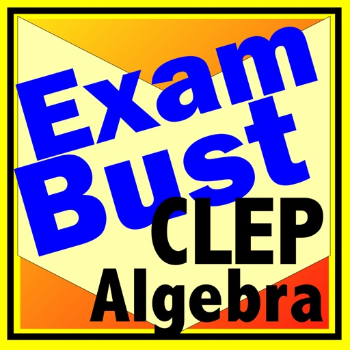 CLEP College Algebra Prep Flashcards Exambusters