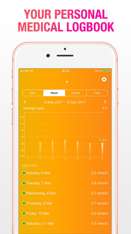 Diabetics Tracker Pro - My Health Manager screenshot-3