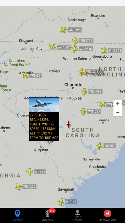 Air Tracker For Southwest Airlines screenshot-2