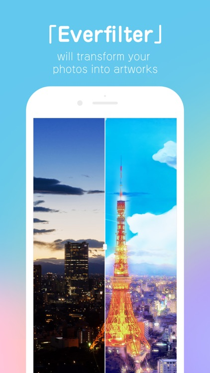 Everfilter - transform your photos into artworks