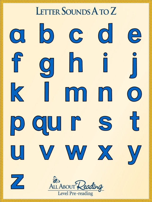 letter sounds a to z on the app store