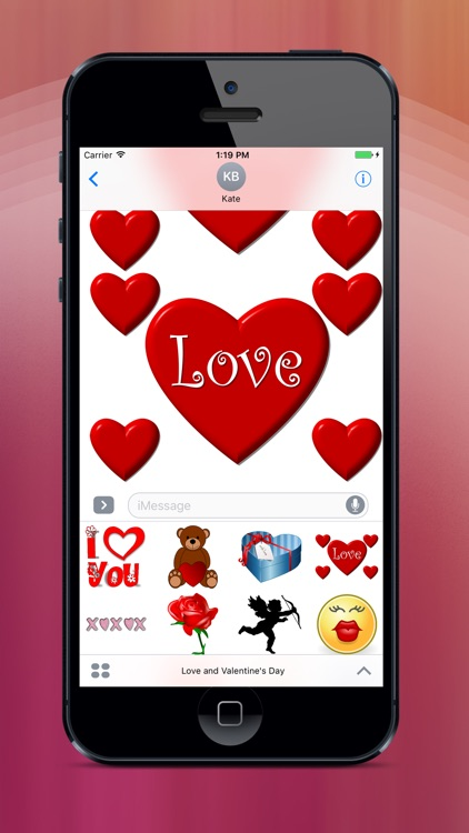 Love, Hearts & Valentine's Day Stickers