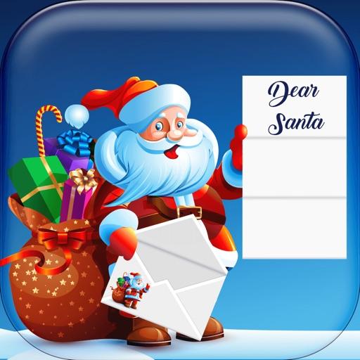Christmas Card: Letter to Santa