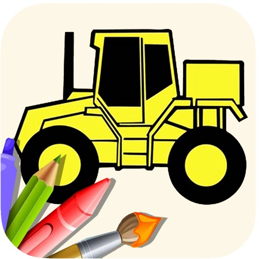 My Tractor Games And Coloring Book For Kids app logo