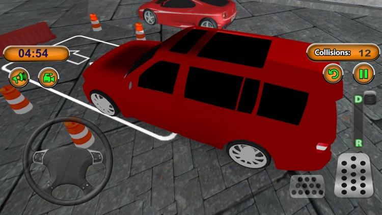 Modern Jeep Parking