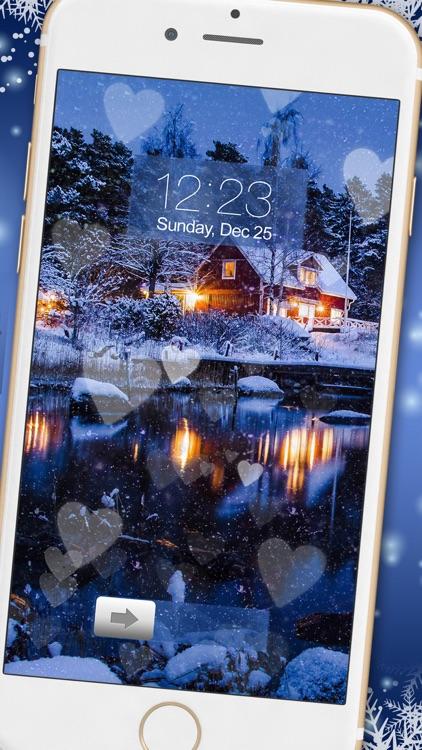 Snowfall Wallpaper – Romantic Winter Backgrounds