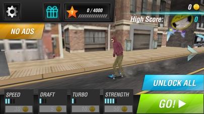 全民城市滑板逃亡 - 英雄街头酷跑联盟 App 截图