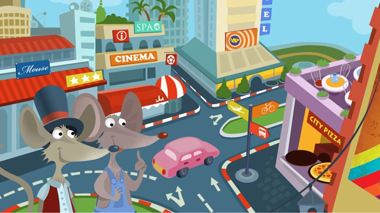 Town Mouse & the Country Mouse screenshot-3