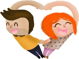 Love and Valentine stickers by meltem for iMessage