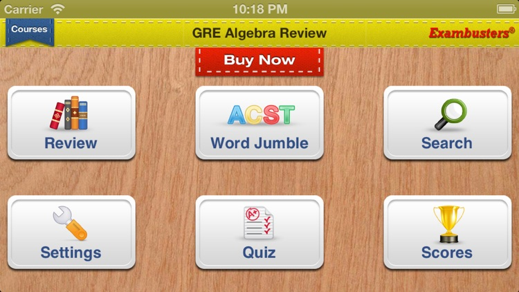 GRE Prep Math Flashcards Exambusters screenshot-3