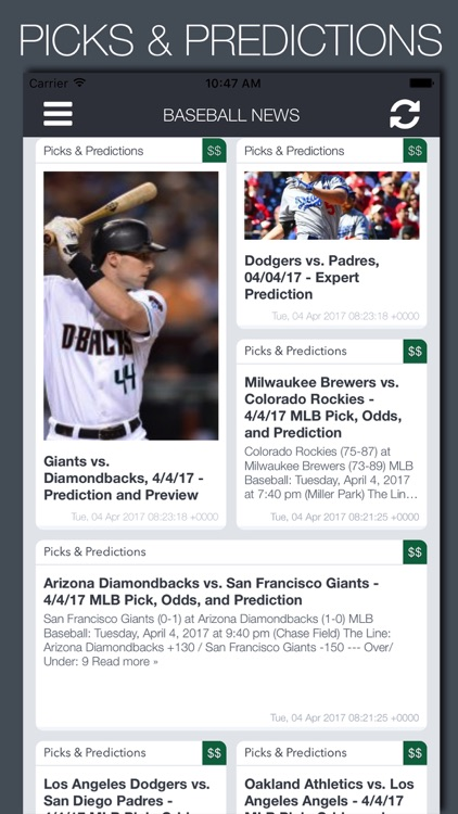 Live Baseball News, Scores & Predictions screenshot-3