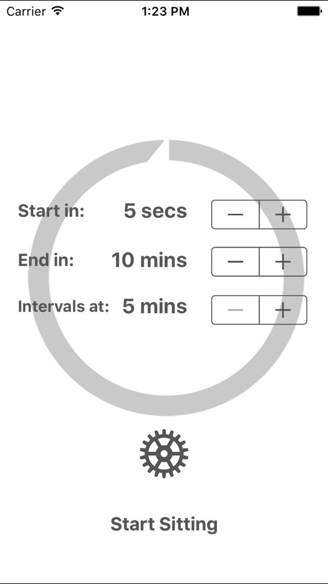 Zenso Meditation Timer Screenshot