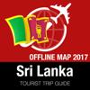 Sri Lanka Guide Touristique + Carte Déconnecté