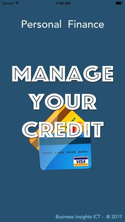 Manage Credit Card Debt screenshot-0