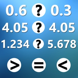 Compare decimal numbers