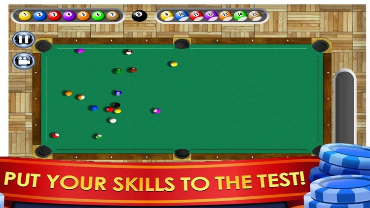 3D Ball Table - Billiard Night
