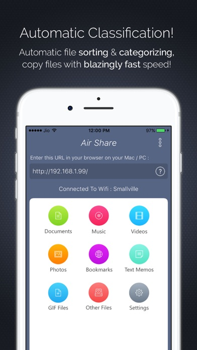 Air Share : Wifi File Transfer screenshot four