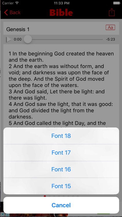 KJV Bible / Acrobible Suites screenshot-4