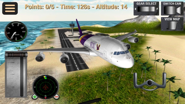 Fly Plane: Flight Simulator 3D screenshot-0