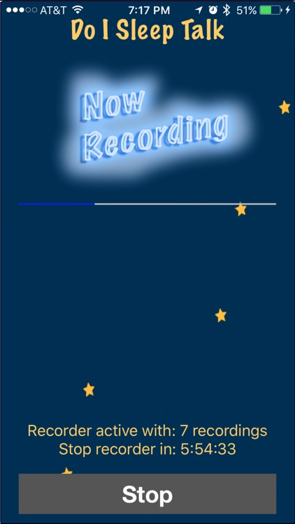 Do I Sleep Talk: Record snore and sleep talking