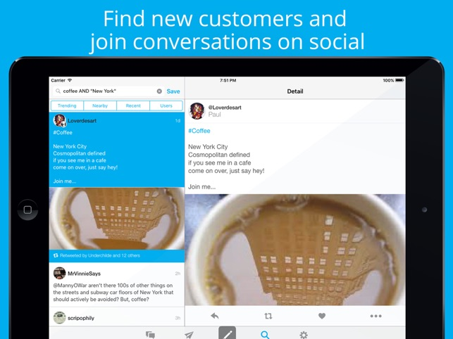 Hootsuite - Social Media Tools Screenshot